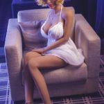 Hilary Hot Blonde Realistic Doll 165cm (5,4ft) Sensual Body (9)