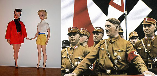 Hitler looks at sex dolls, by Passion4dolls real sex dolls
