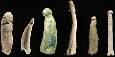 Ancient prehistoric penises carved in stone, By Passion4dolls